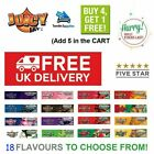 Juicy Jays King Size Slim FRUITY Flavoured Rolling Papers RIZLA SKINS 18
